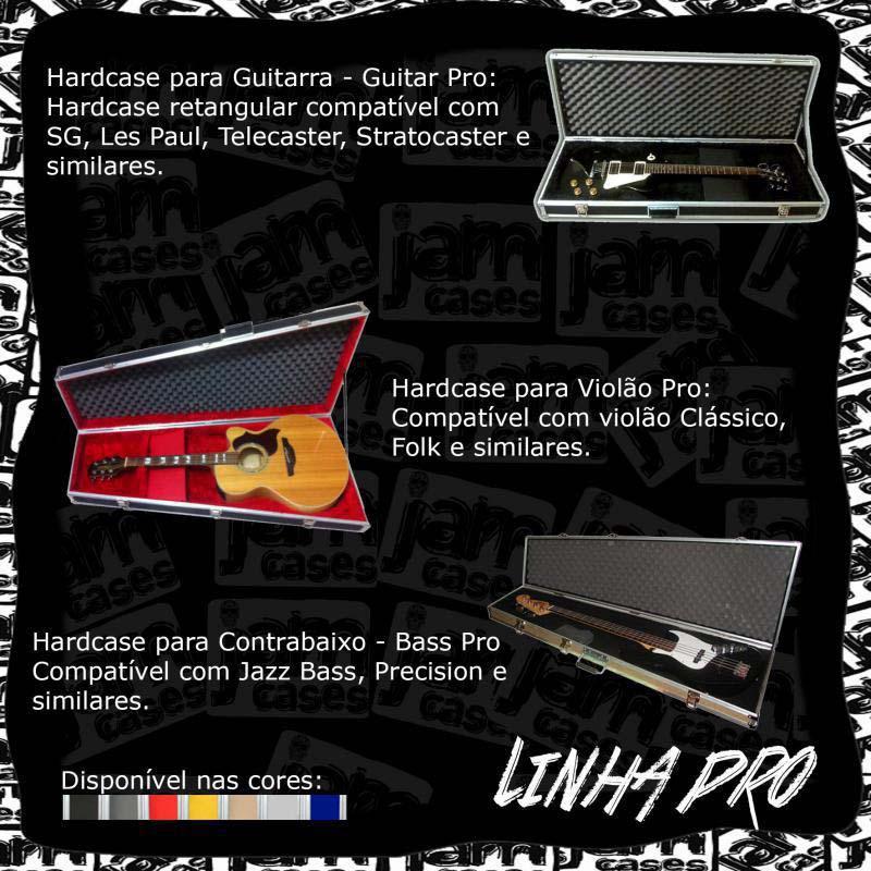 Cases para instrumentos musicais